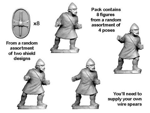Unarmoured Citizen Spearmen