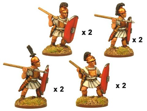 Republican Roman Hastati/Principes with Pilum