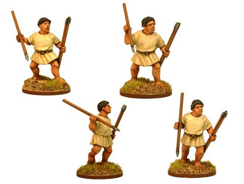 Roman Leves with Javelins