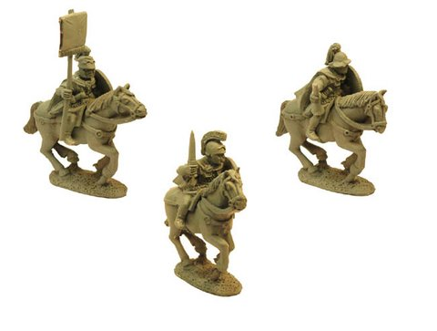 Republican Roman Cavalry in Mail - Command