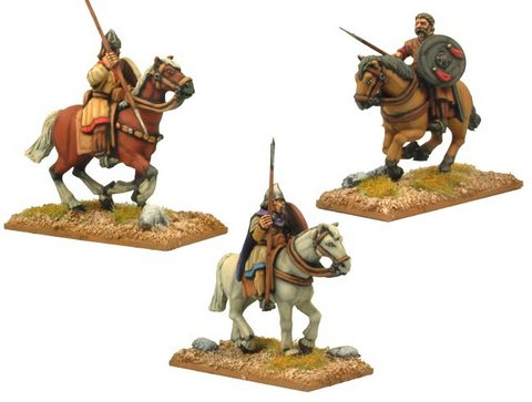 Spanish Light Cavalry with Spears/Javelins