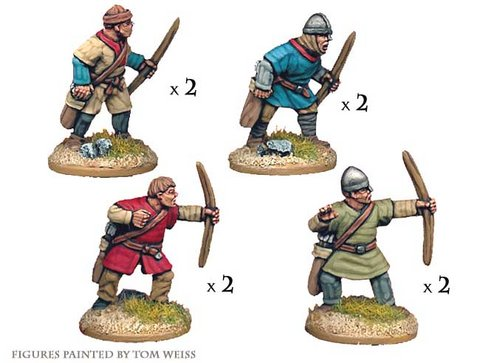 Unarmoured Norman Bowmen
