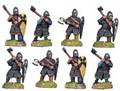 Photo of Dismounted Norman Knights with Axes (DAN007)