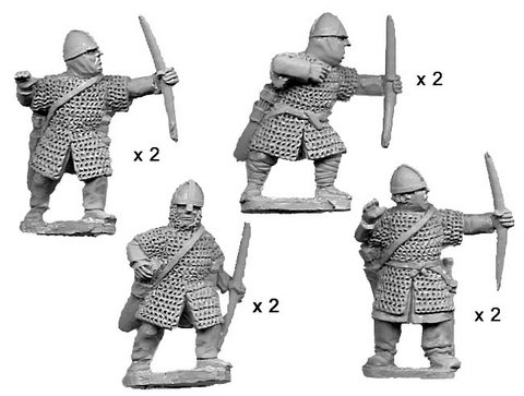 Armoured Norman Bowmen