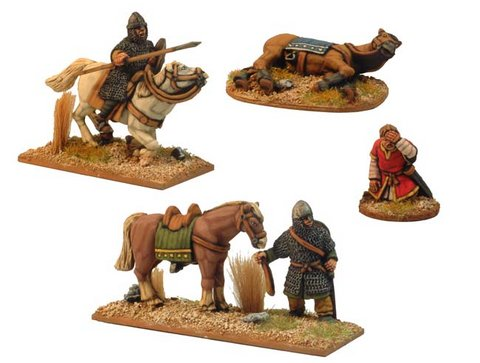 Norman Cavalry Characters