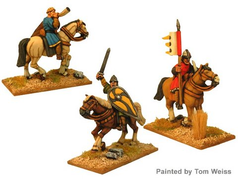 Unarmoured Norman Cavalry Command