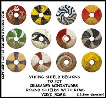 Viking Shield Transfers (rim1)