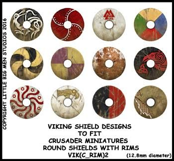 Viking Shield Transfers (rim2)