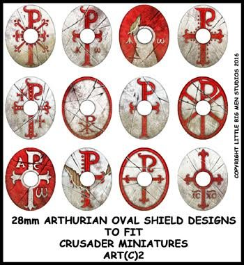 Sub Roman Shield Transfers (Oval 2)
