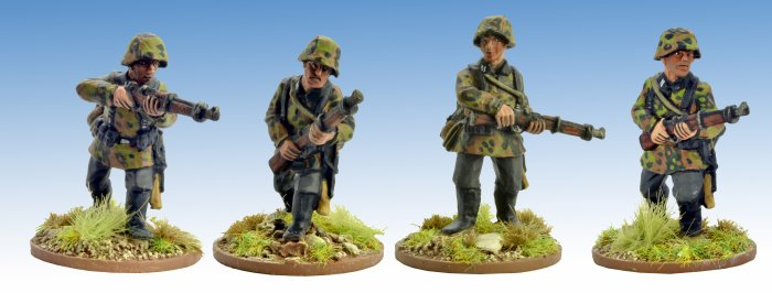 German Schützen with Rifles 1