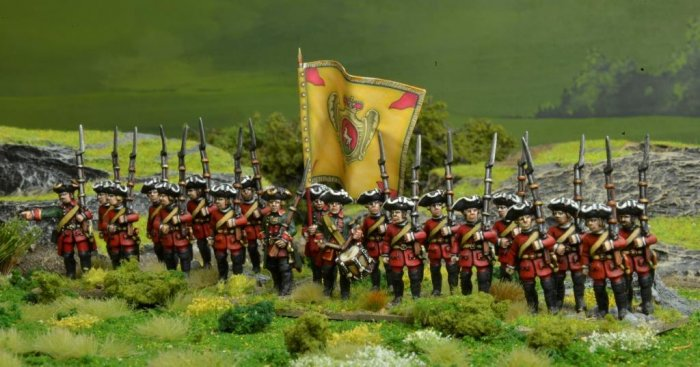Seven Years War Infantry Unit