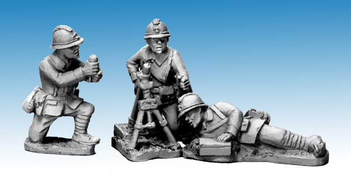 Dragon Portes 60mm Mortar & Crew