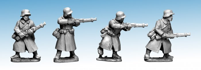 German Infantry in Greatcoats II (Riflemen)