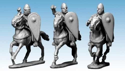 Norman Knights in Chainmail with Spears II