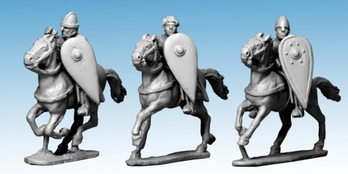 Unarmoured Norman Cavalry with Spears