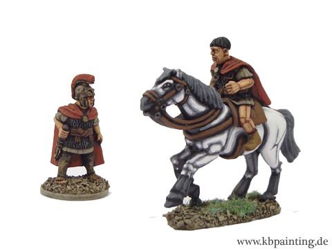 Republican Roman General (Foot & Mounted Versions)