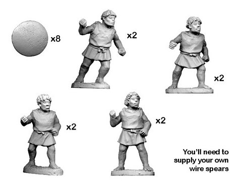 Numidian Warriors with Spear/ Javelin