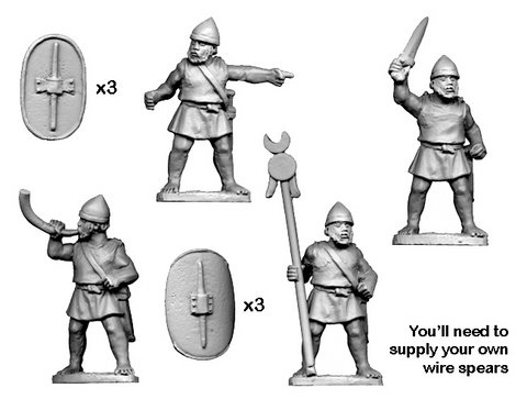 Numidian Command (For Legionaries and Trained Infantry)