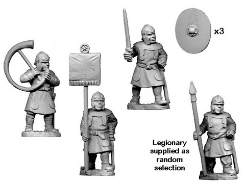 Late Roman Legionary Spearmen Command