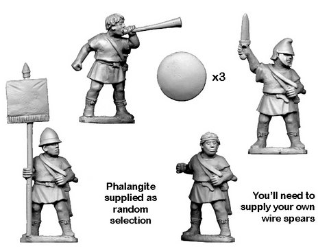 Unarmoured Phalangite Command