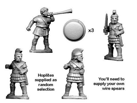 Greek Hoplite Command