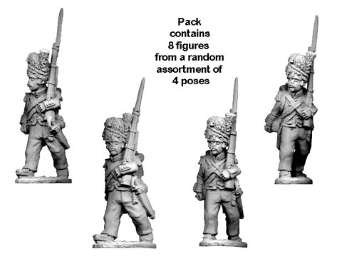 Napoleonic French - Grenadier Company in Bearskins