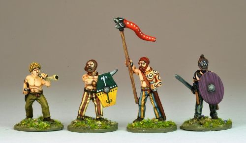 Ancient German Warband