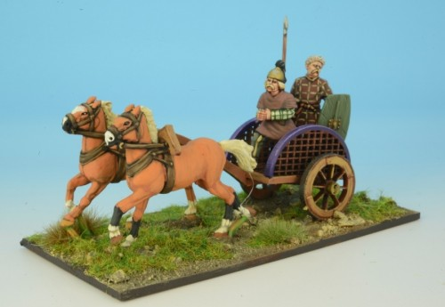 Celt Warrior in Chariot II