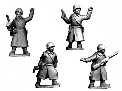 Russian Command in Greatcoats