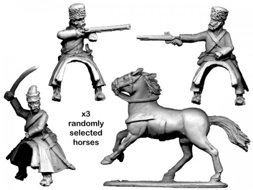 SYW Russian Cossacks with assorted Weapons