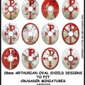 Photo of Sub Roman Shield Transfers (Oval 2) (ARTC2)