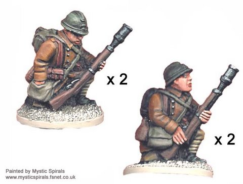 French Rifle Grenadiers.