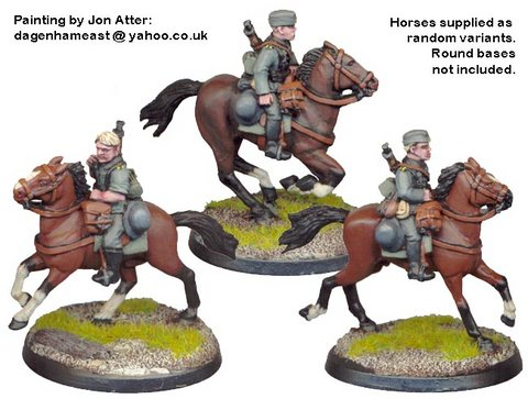 German Cavalry in Side Caps